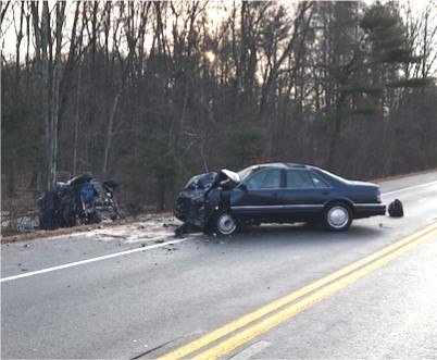 One killed in Route 56 head on collision