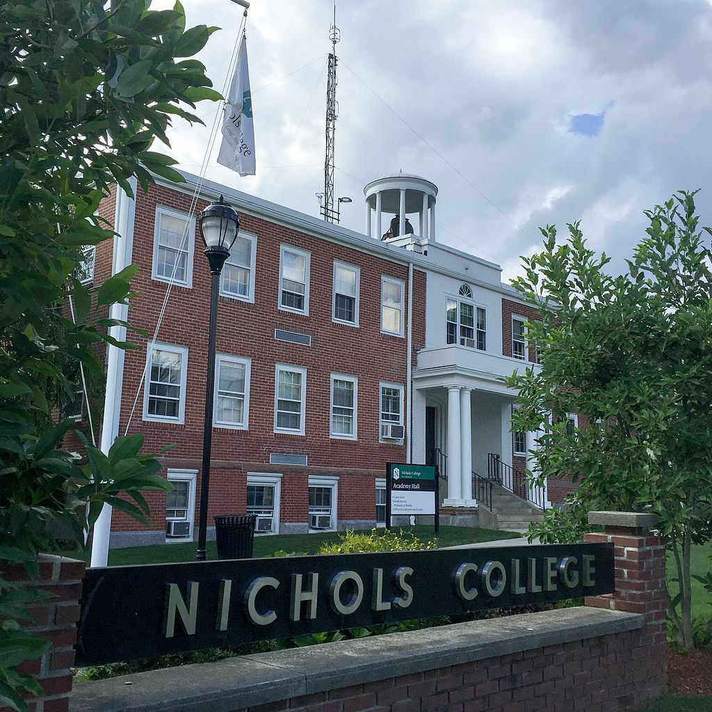 Worcester Business Journal Readers Name Nichols College 'Best College for Business Education' in Central Massachusetts