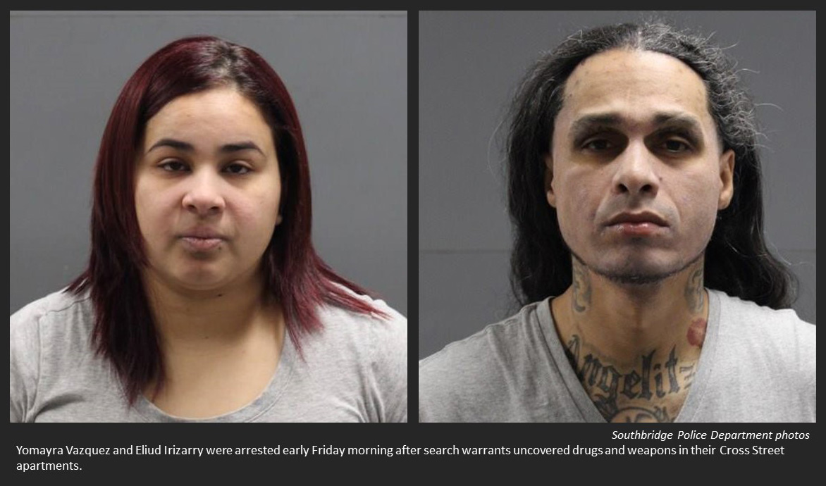 Search warrants result in drugs, guns recovered by police