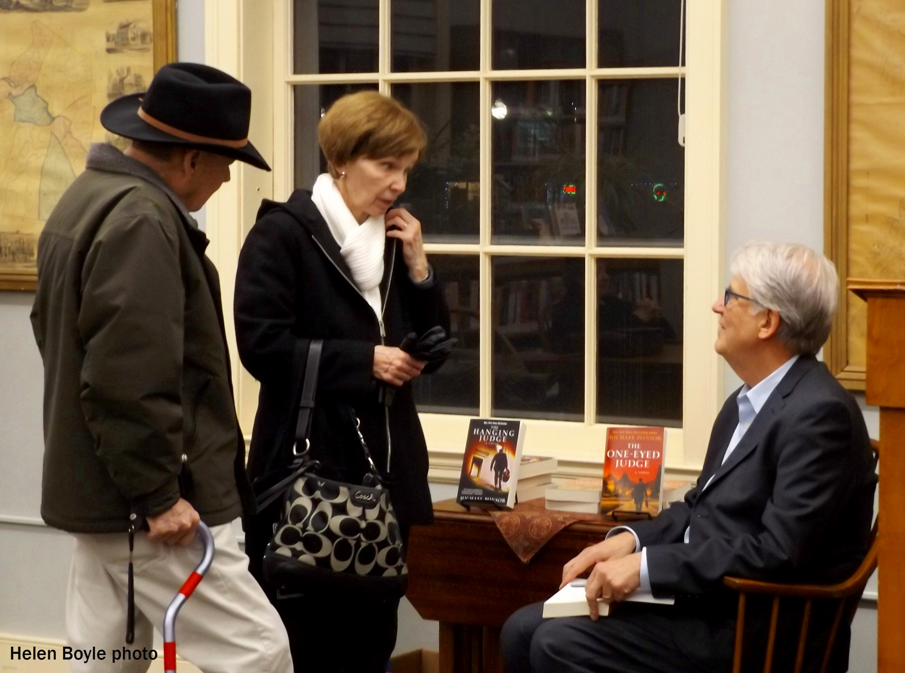 Bestselling author shares story with library patrons