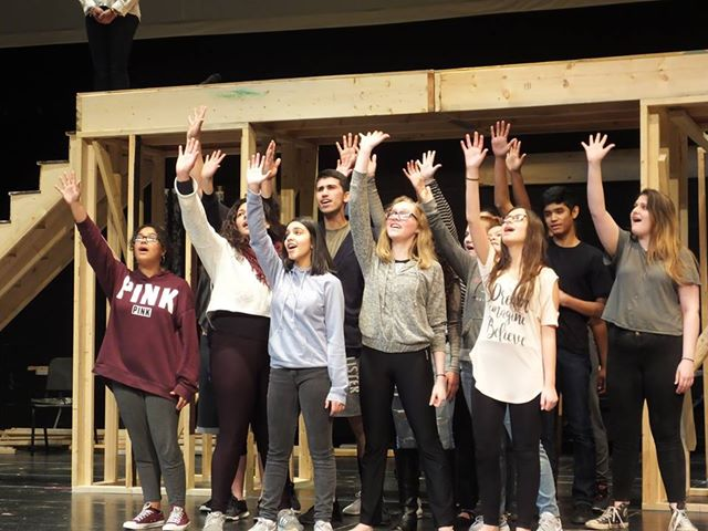 """SHS Drama Club Students Reach for More than """"Fame"""""""