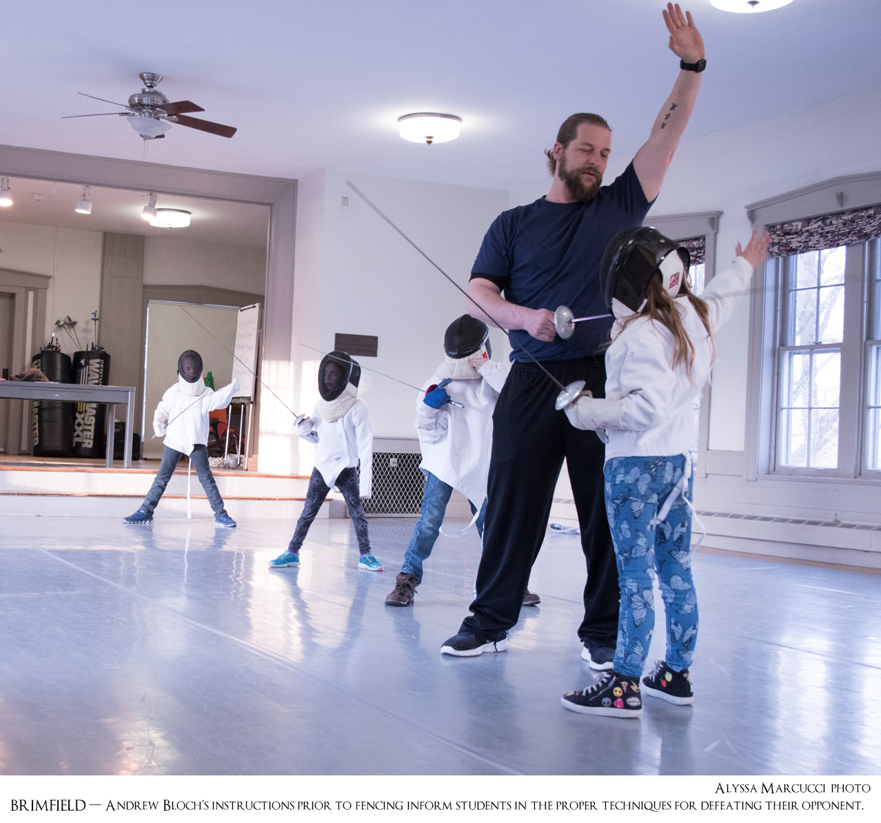 Hitchcock Academy invites you to take a stab at fencing