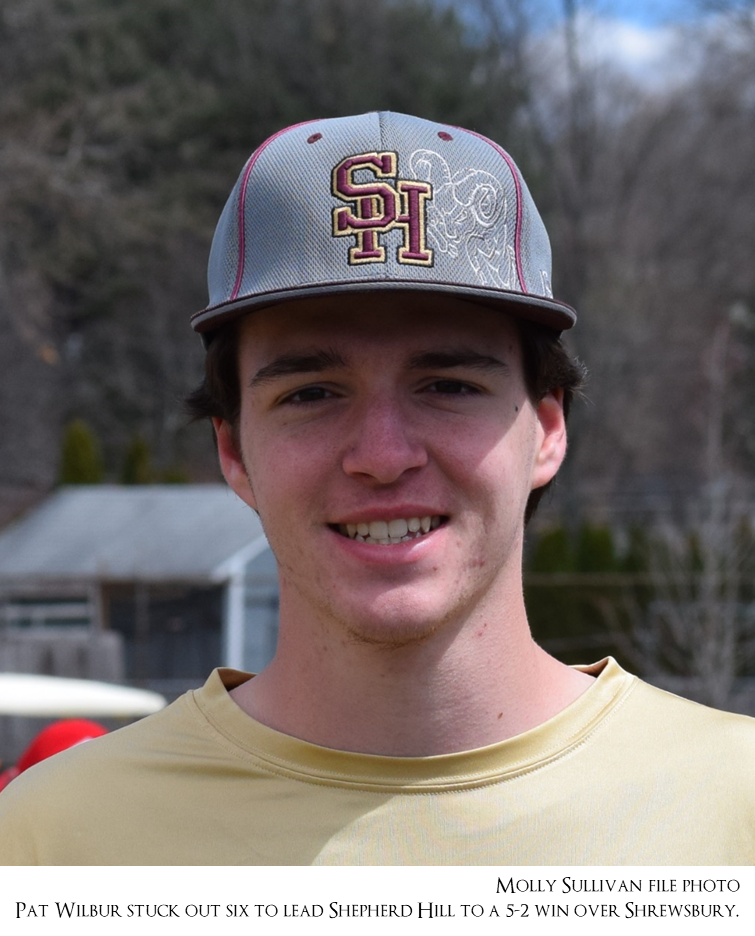 Baseball: Shepherd Hill 5, Shrewsbury 2