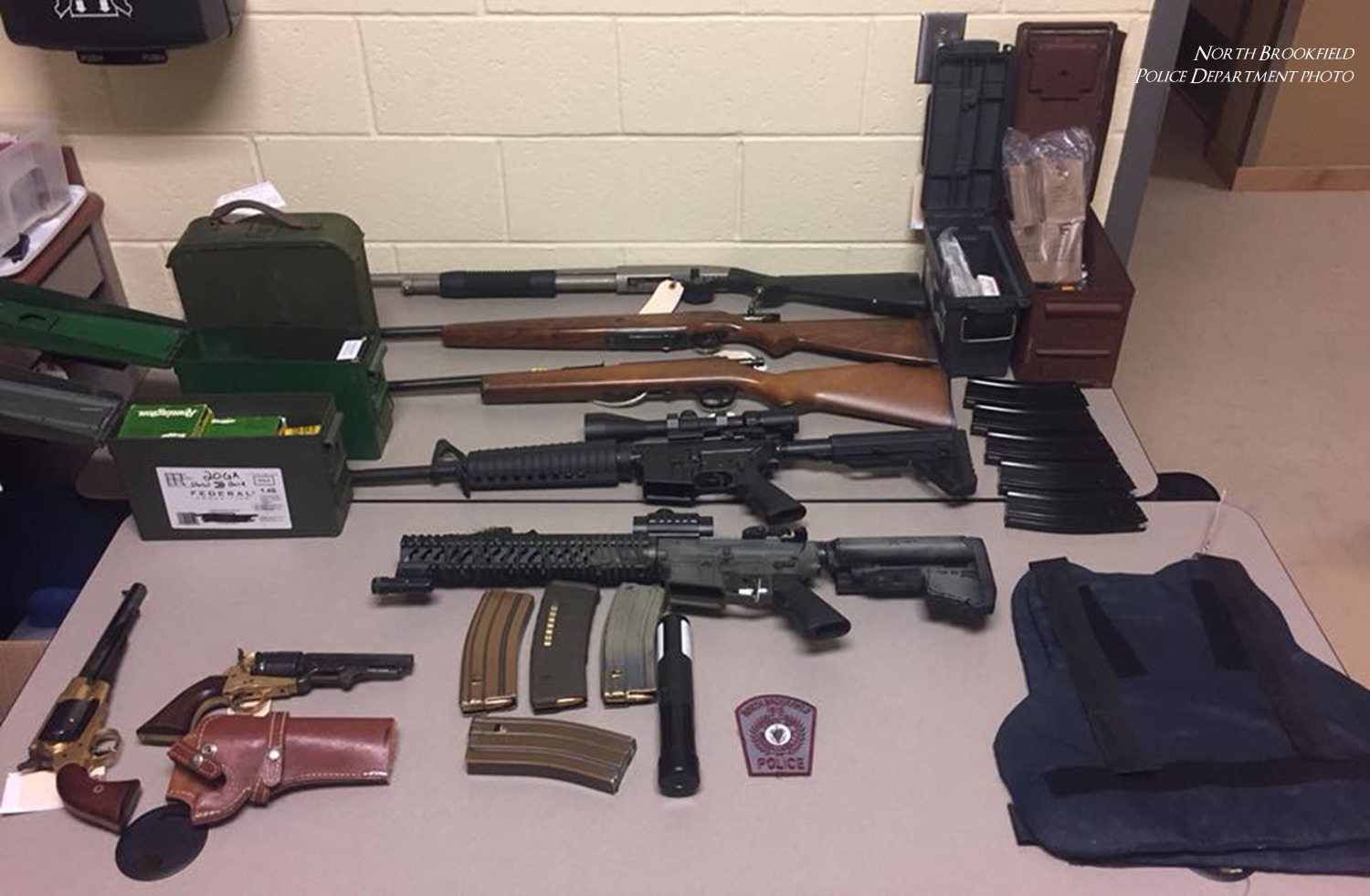 North Brookfield man arrested in armed home invasion