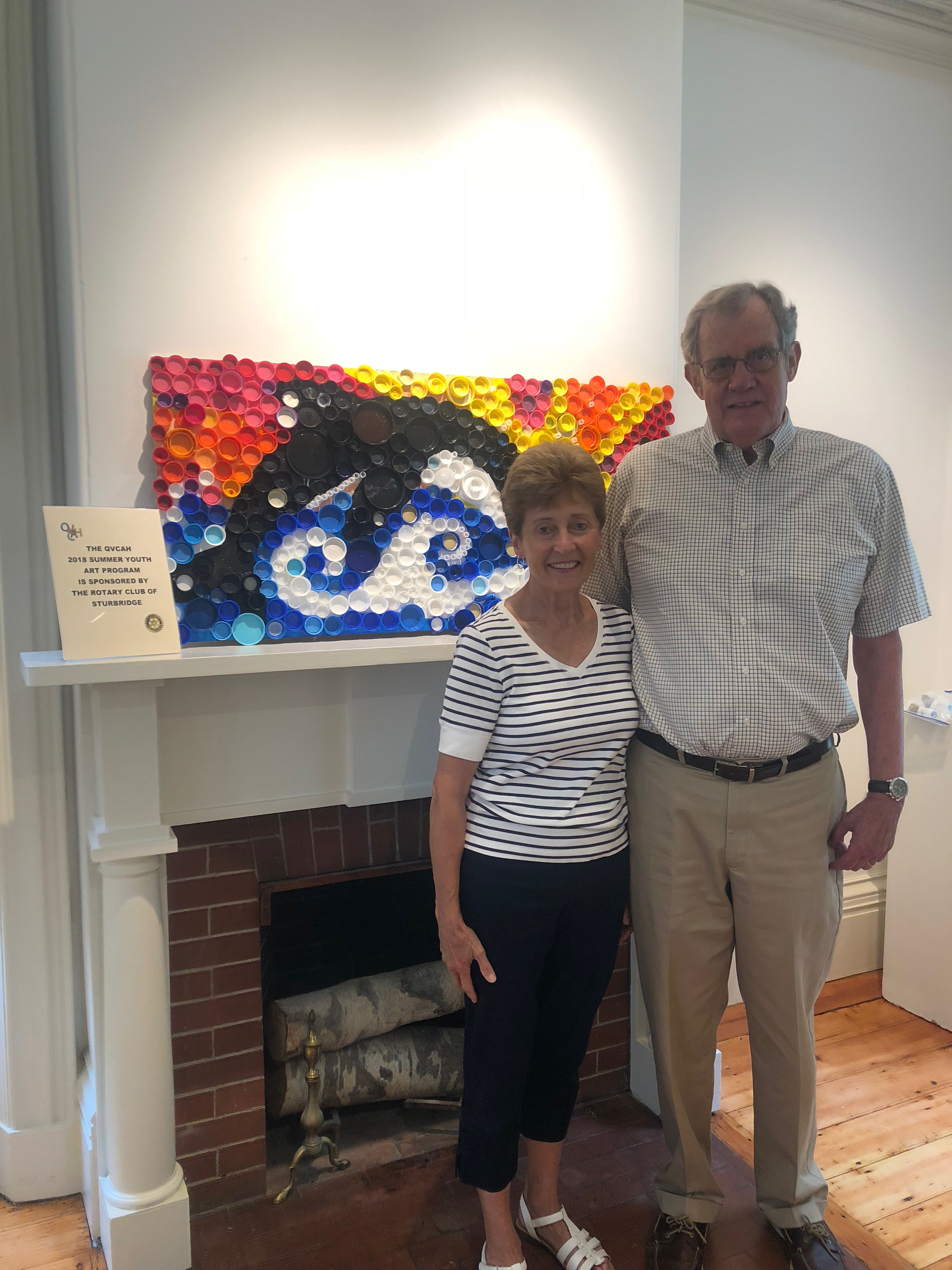 Free Kids' Art Classes Supported By Sturbridge Rotary