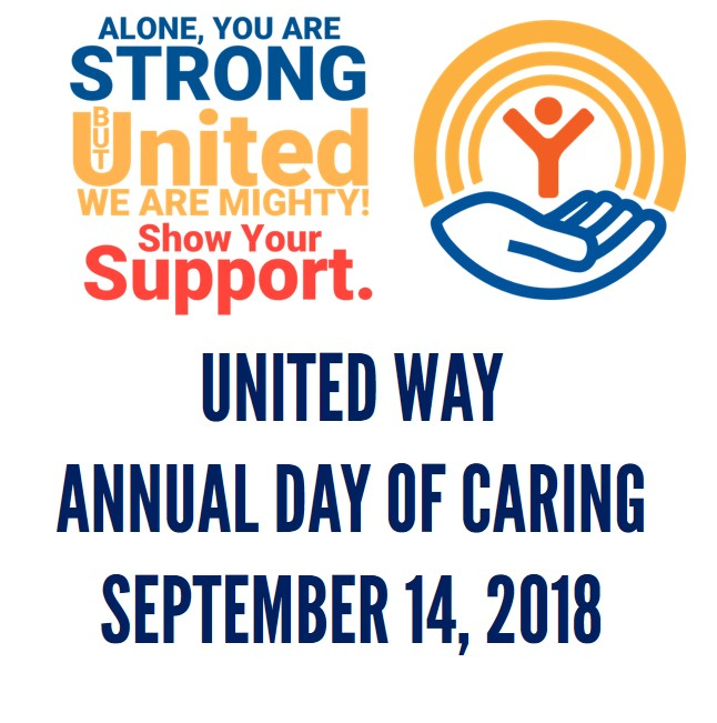 United Way seeking volunteers for Day of Caring