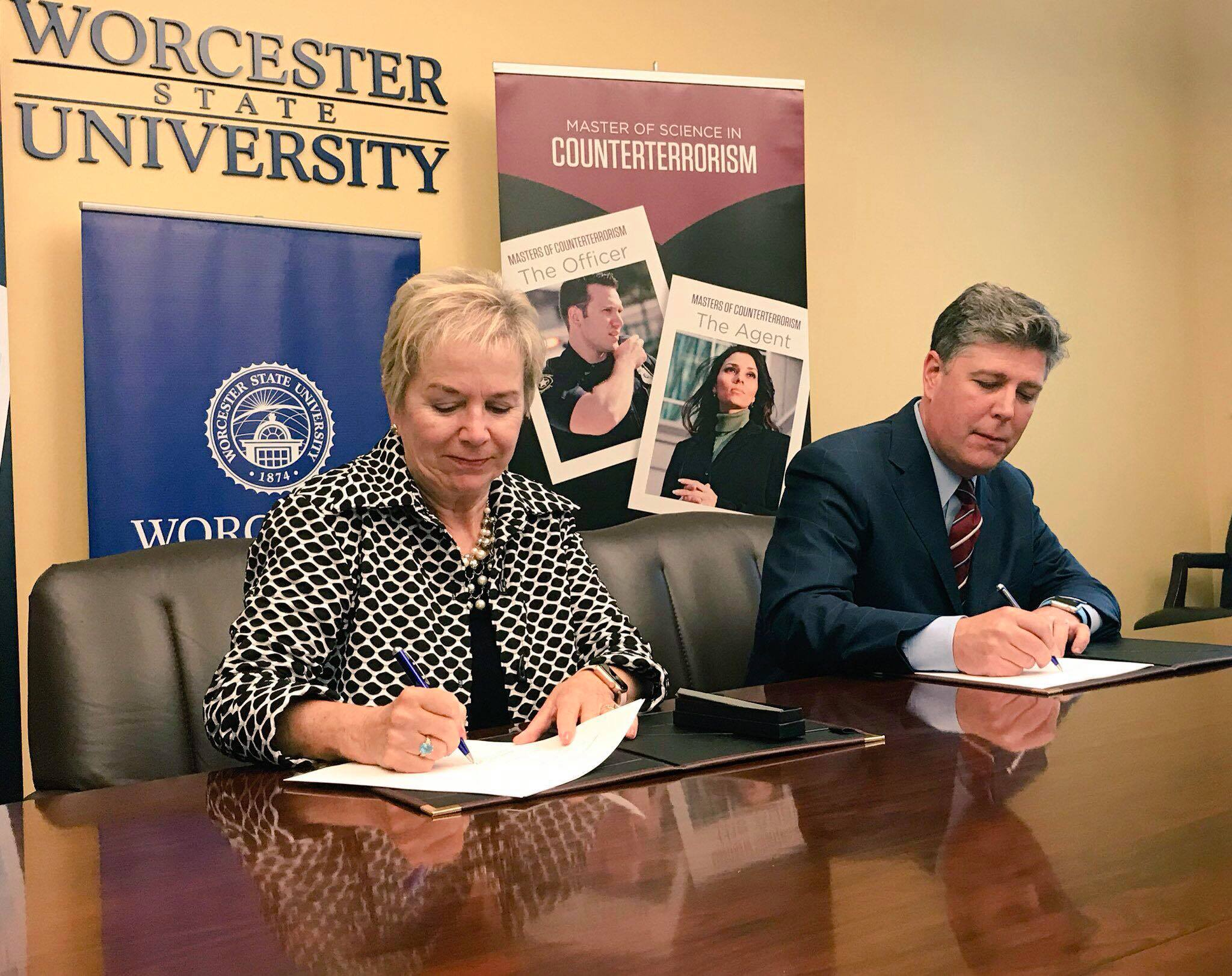 Partnership between colleges provides pathway to Counterterrorism Master's