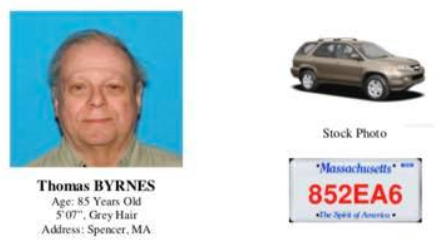 Silver Alert leads to Spencer man being found in Worcester