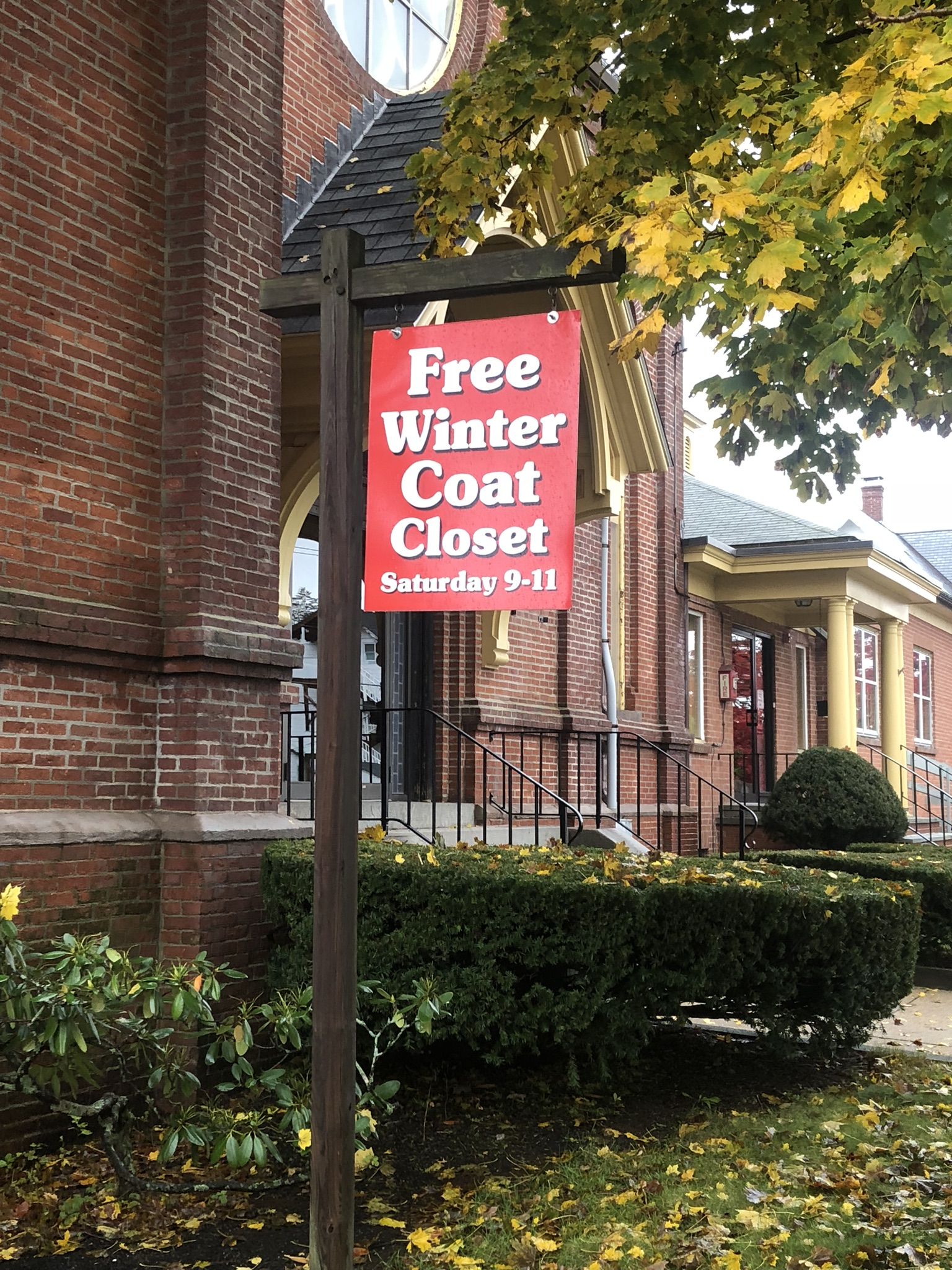 Ecumenical Coat Closet to Operate Several More Weeks