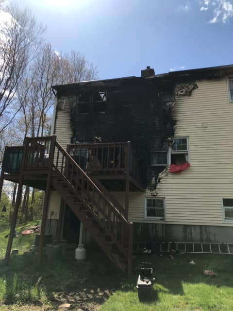 Active investigation after two-alarm fire in Charlton