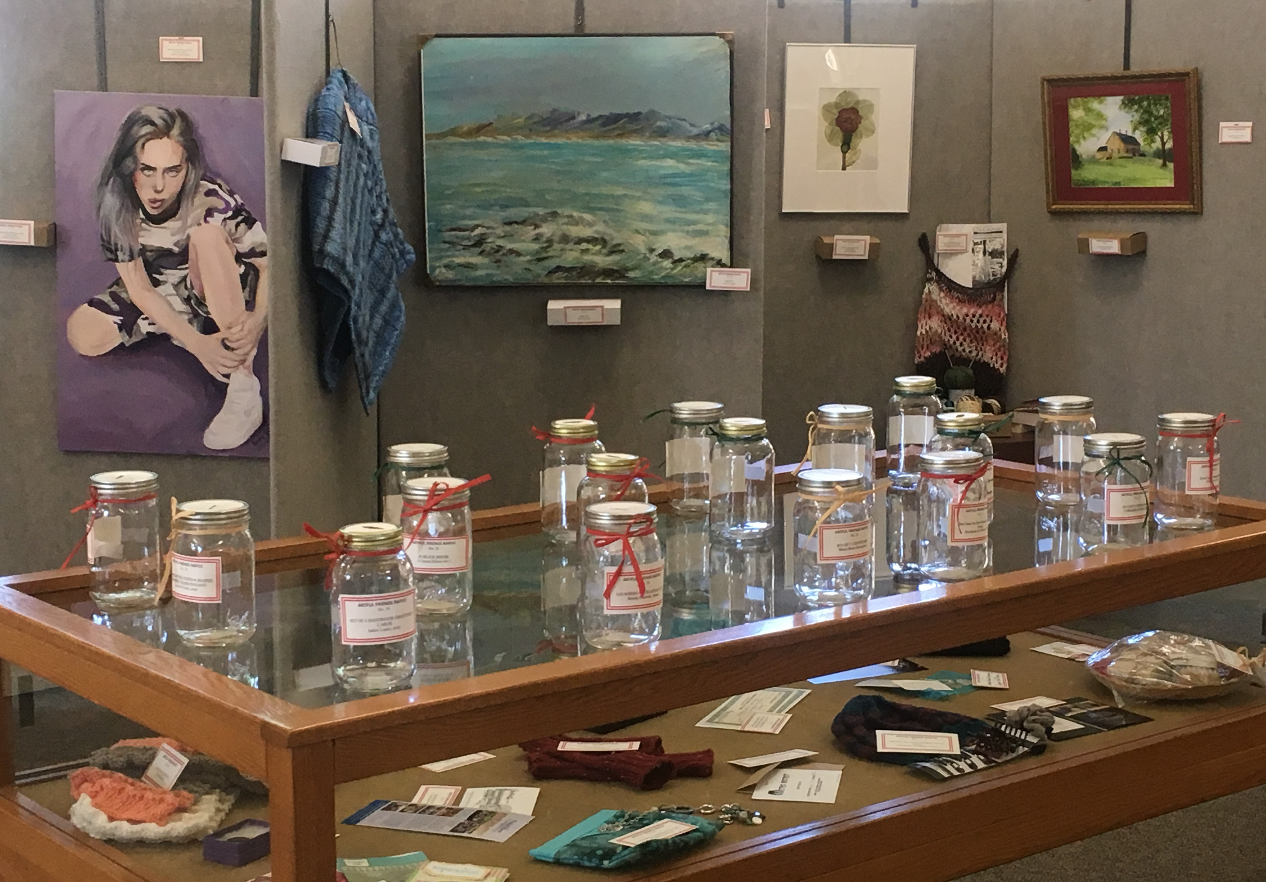 Library's Artful Friends hold raffle