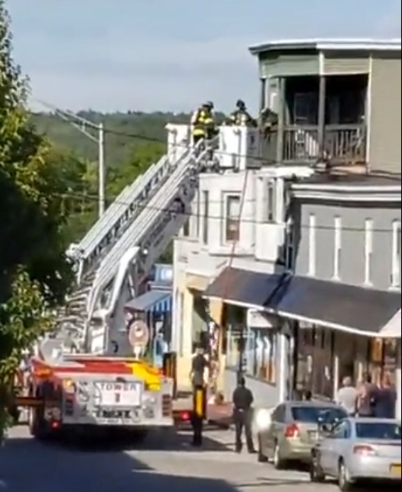 Two alarms struck for Hamilton Street fire