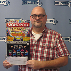 Photo of lottery winner Thomas Minarik