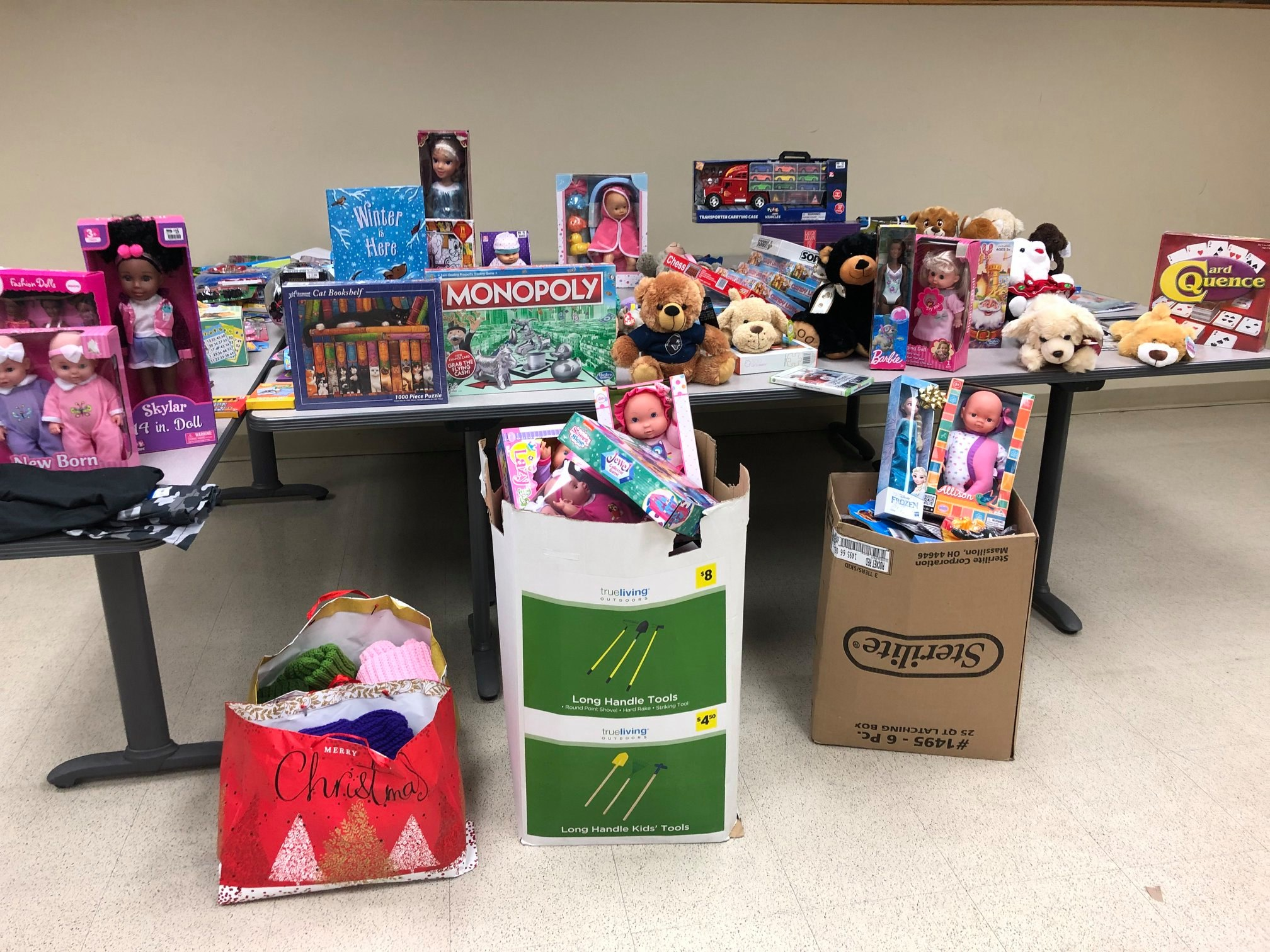 Dudley PD has apprehended many donations for needy families