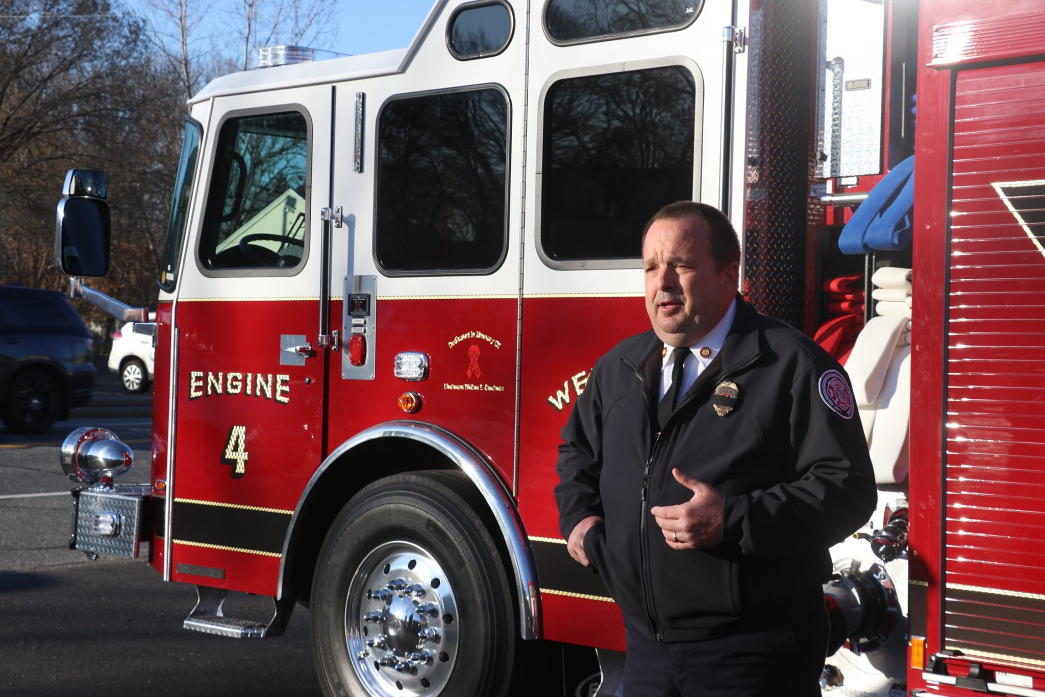 Webster Fire-Rescue announces grant award for firefighter turnout gear