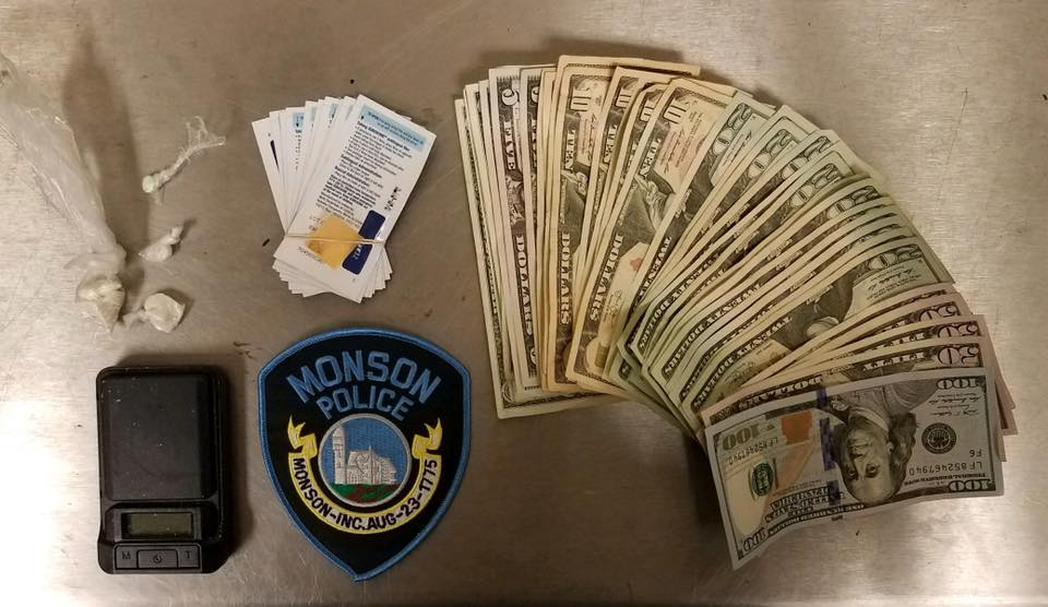 Palmer duo busted in Monson drug deal