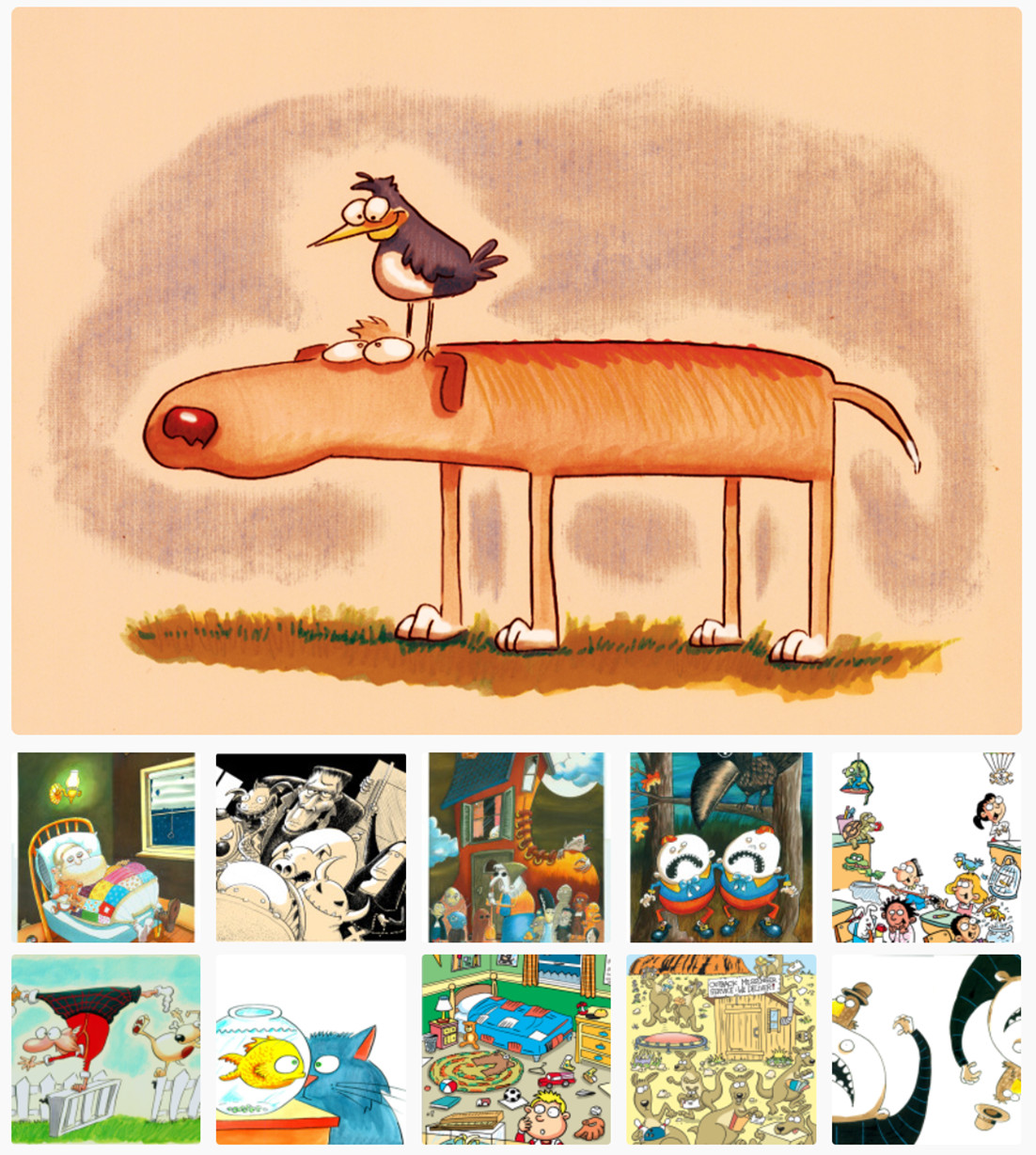 Award-winning cartoonist to share work, lesson in Dudley
