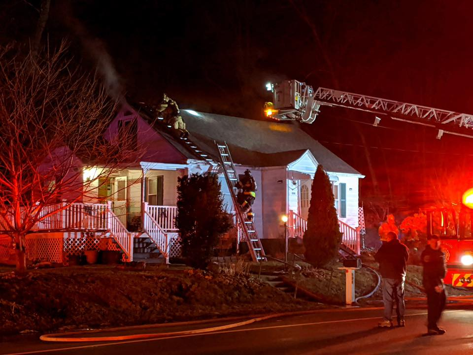 Charlton home suffers 'significant' damage in fire