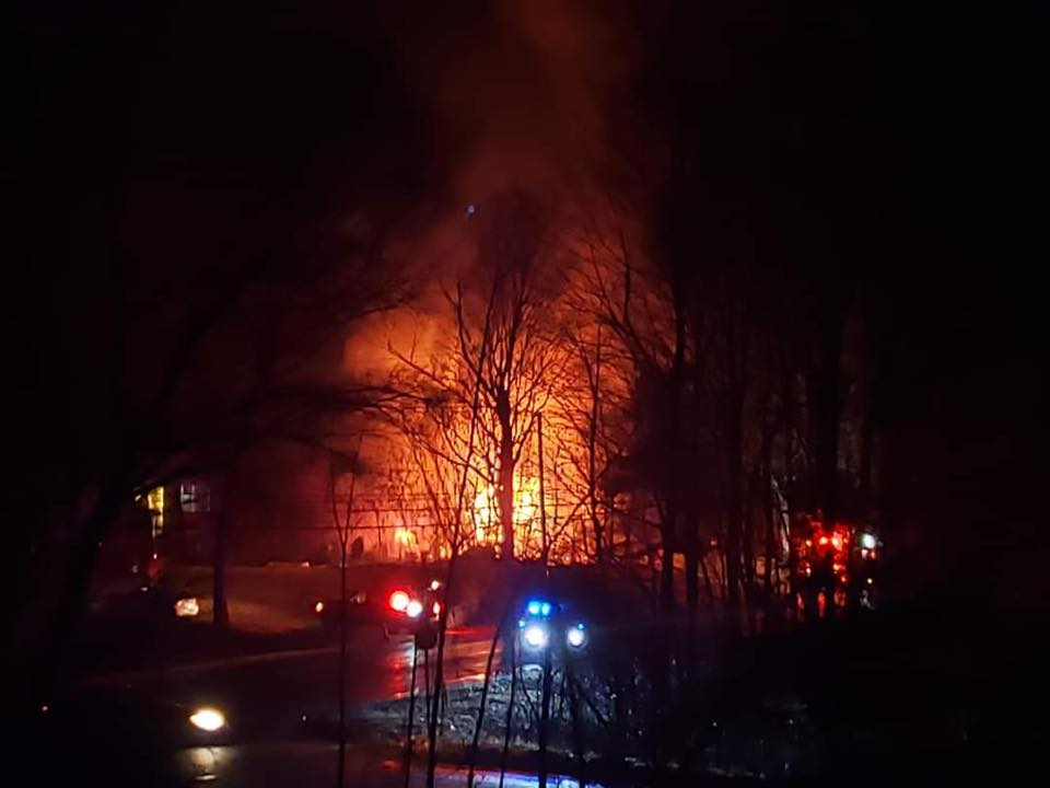 Montessori school engulfed in three-alarm blaze