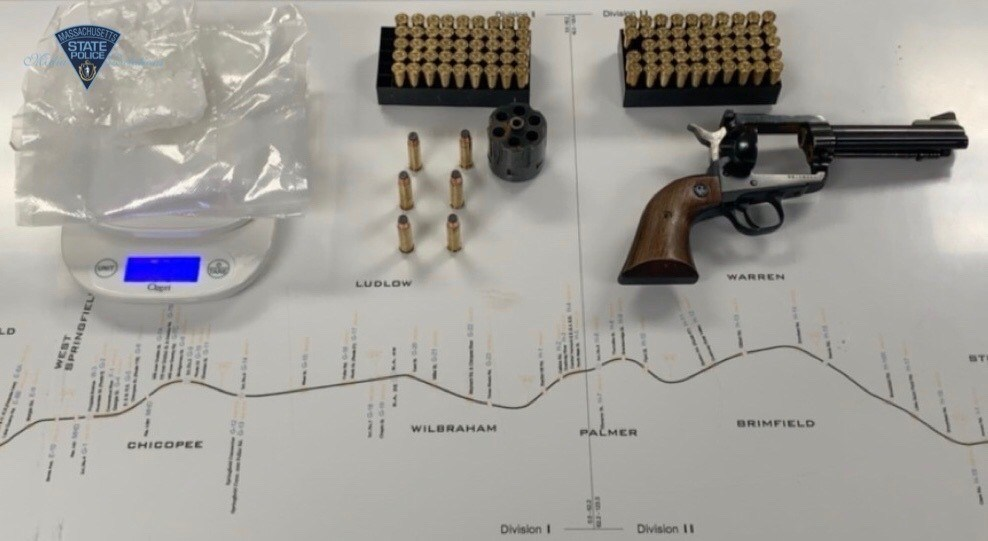 State Police arrest two on drug, firearms charges in Millbury