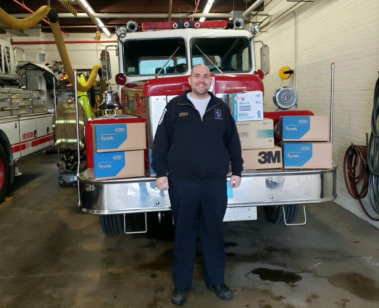 Palmer first responders receive PPE