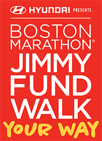 Logo for the Boston Marathon Jimmy Fund Walk