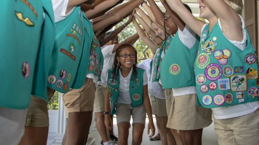 Girl Scouts work around pandemic to sell famed cookies