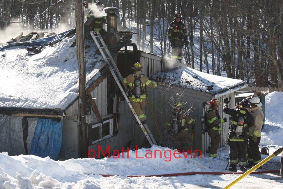 Three-Alarm Fire on Route 20