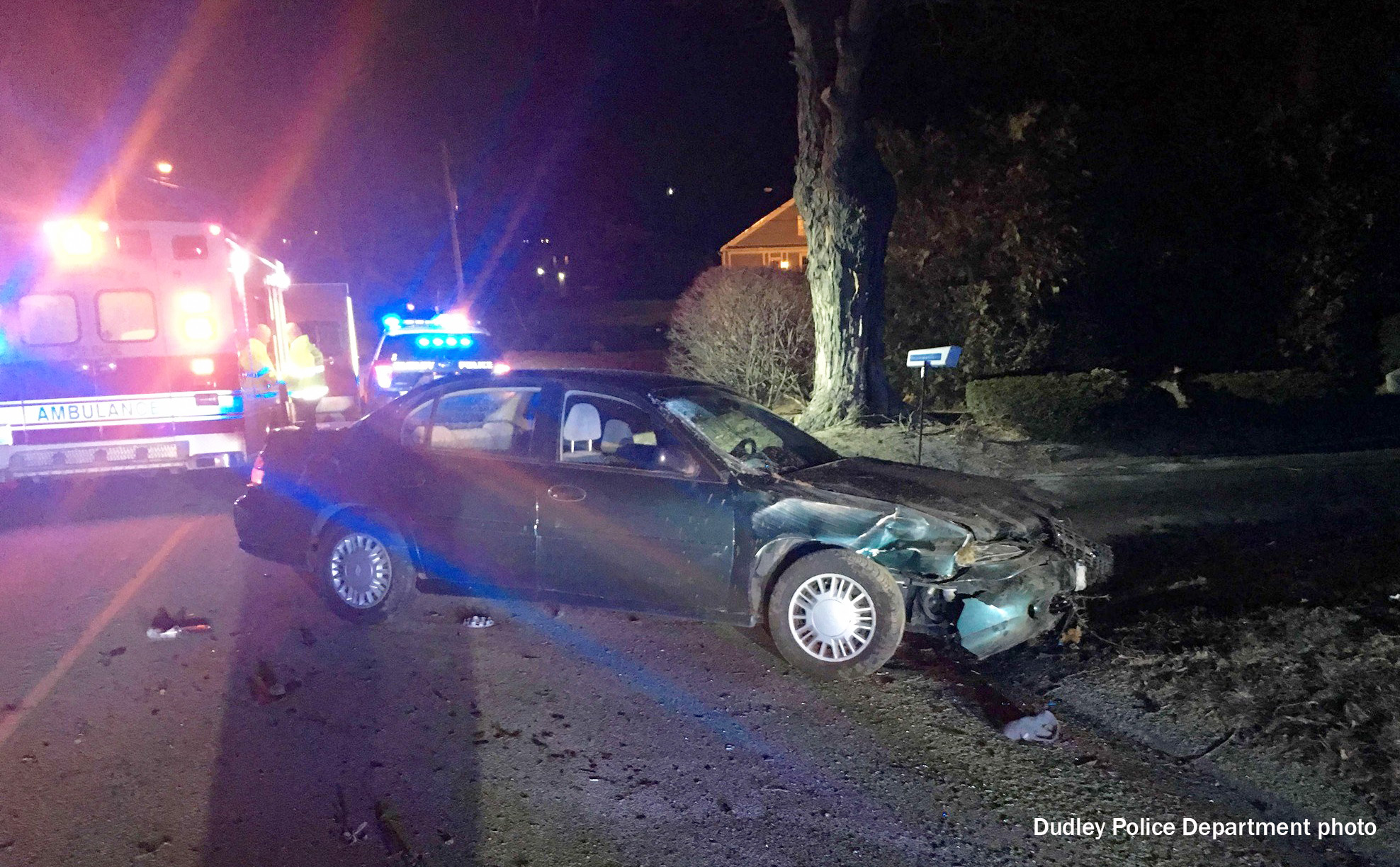 Charlton man charged with OUI after early morning accident