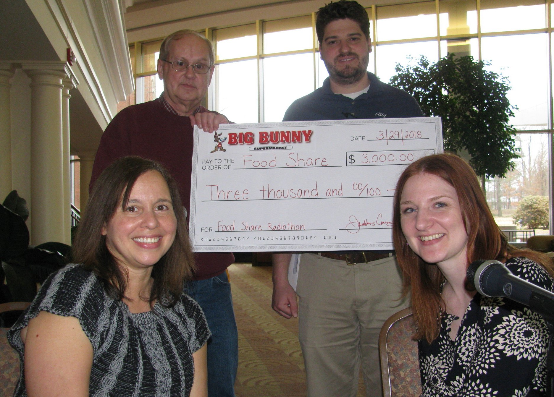 Foodshare radiothon collects $29,800 in 39th annual broadcast