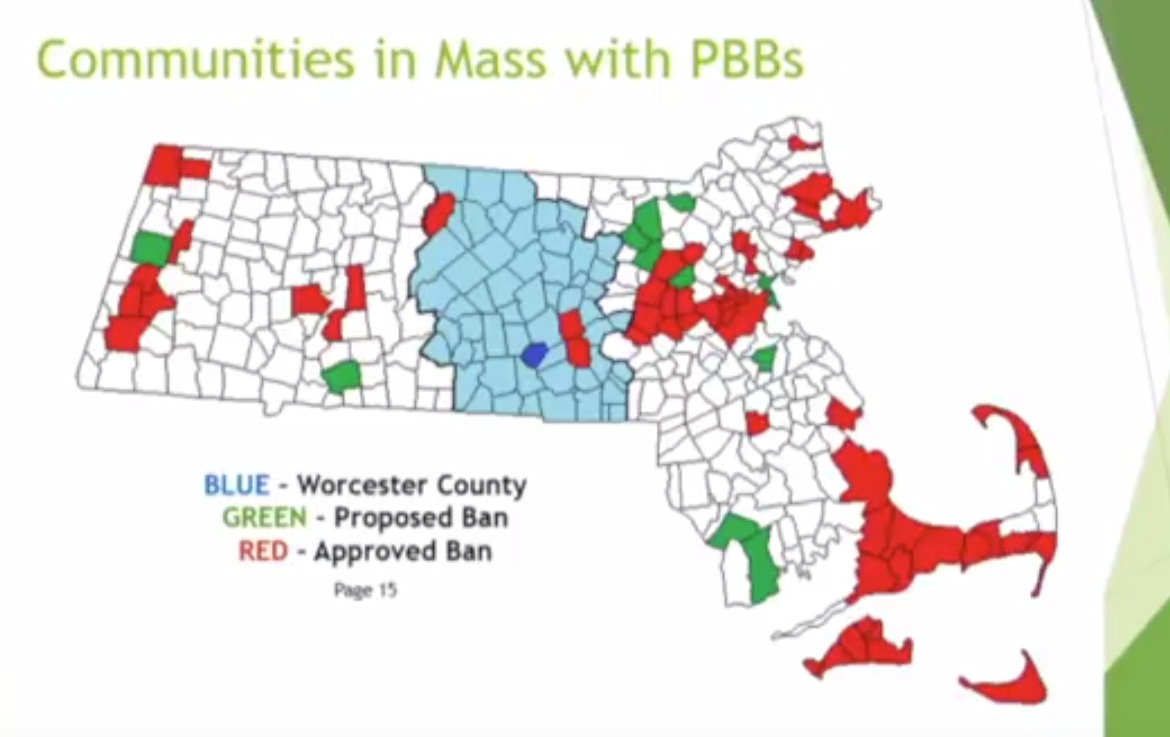 Ban on plastic bags debated by Selectmen, business owners