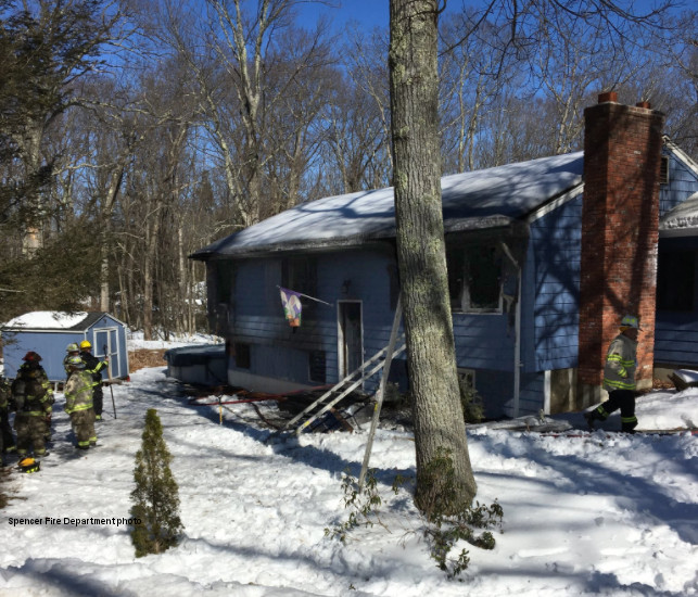 Family of three displaced in Shepard Road fire
