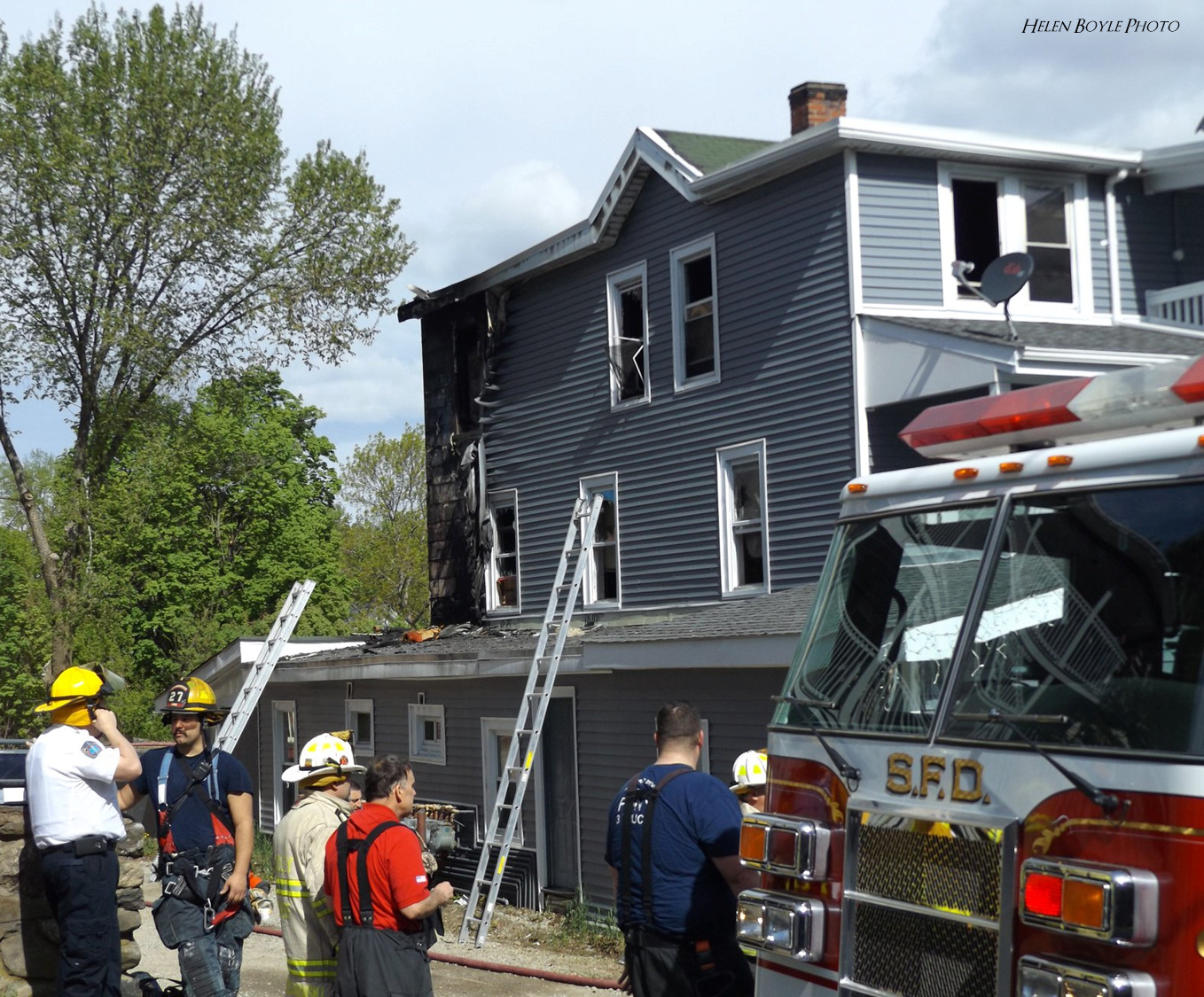SFD battles second three-alarm fire in less than 24 hours