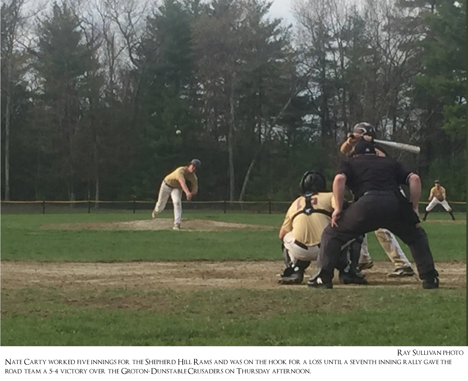 Baseball: Shepherd Hill 5, Groton-Dunstable 4