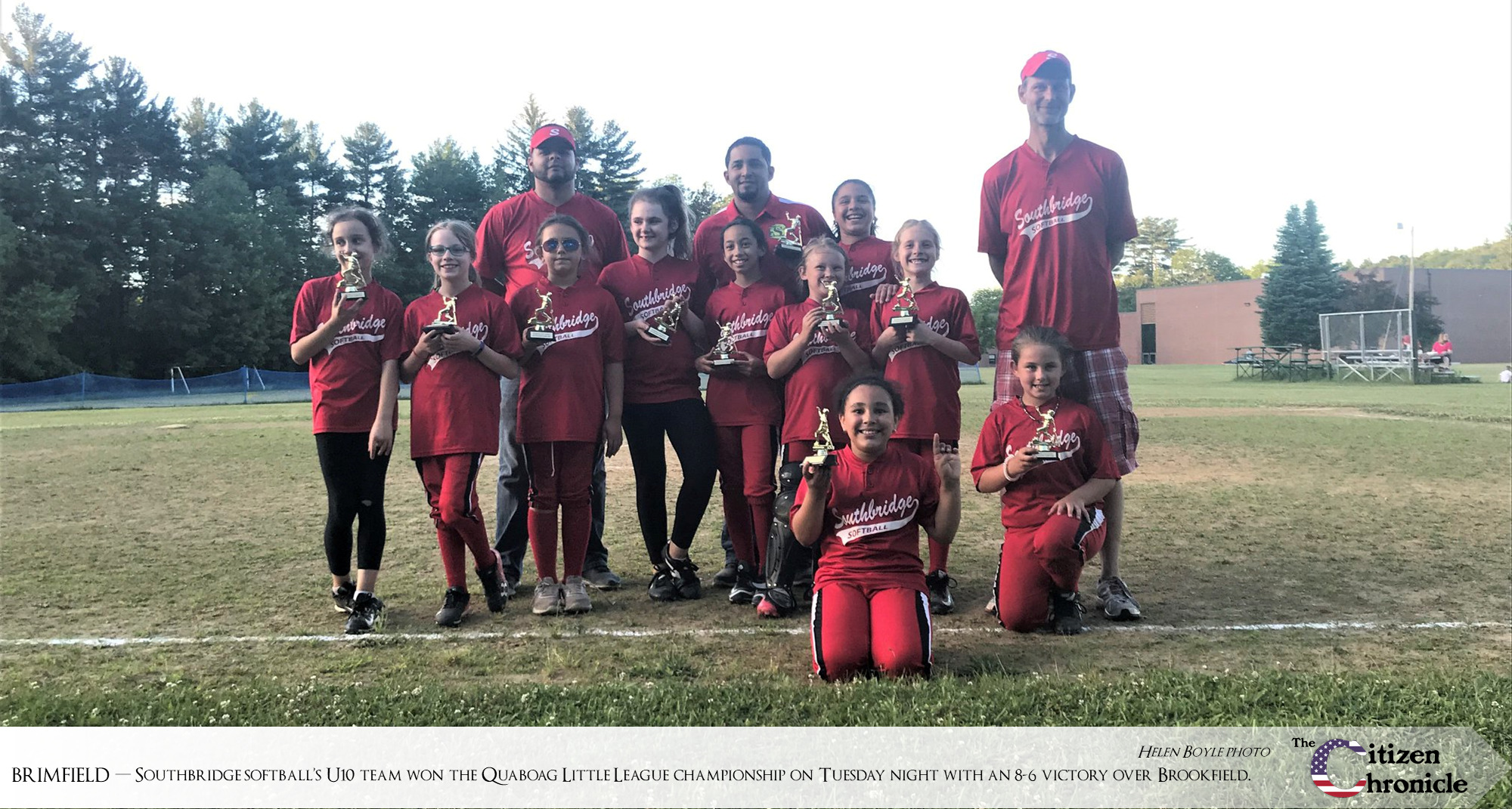 Southbridge youth softball wins title game in third year of existence