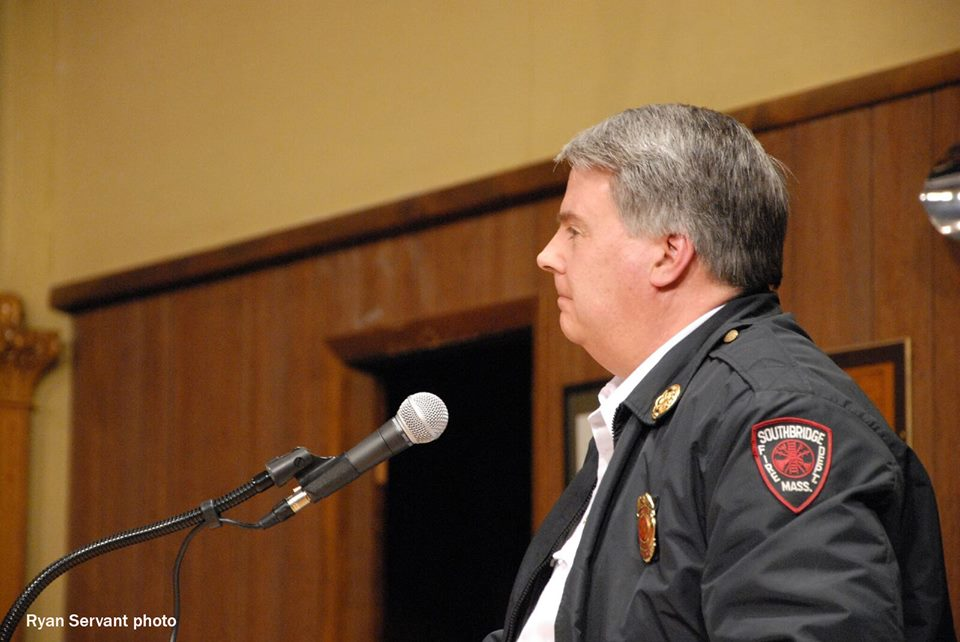 Southbridge Fire Chief Takes Job in Upton