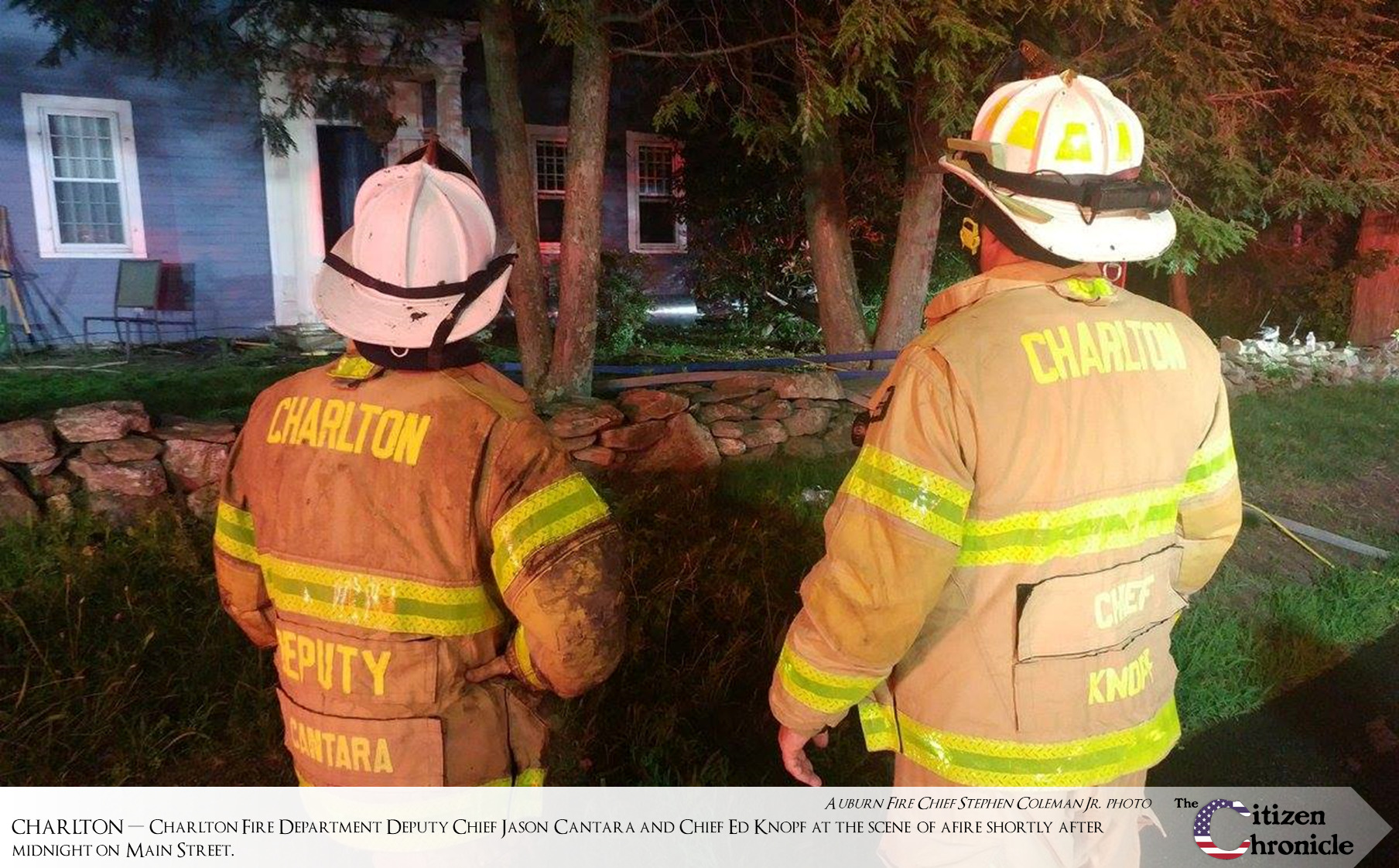 """""""Significant"""" damage to 1820 home as a result of three-alarm fire"""