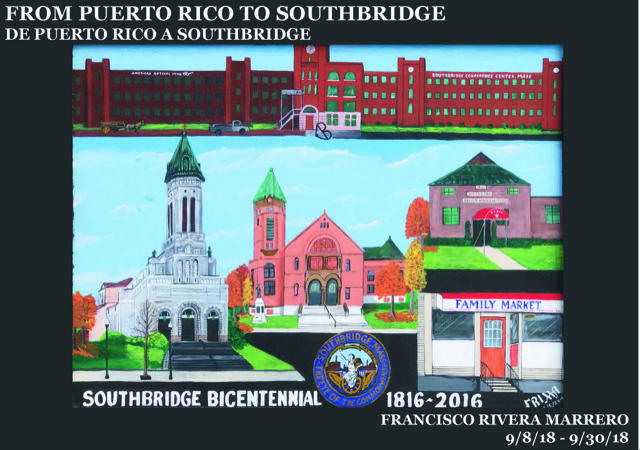 Puerto Rican Artist to Exhibit at Southbridge Arts Center