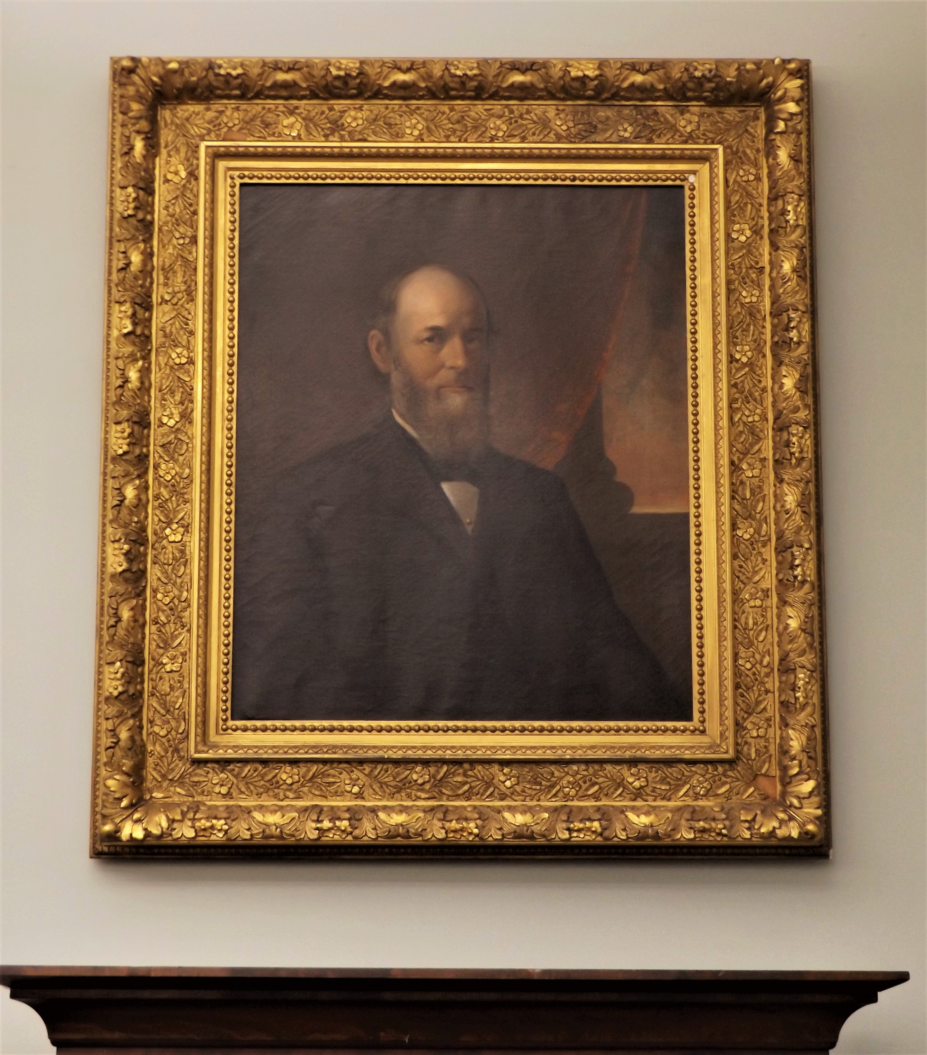 Portrait of Theodore Jerome Harrington Gifted to Jacob Edwards Library