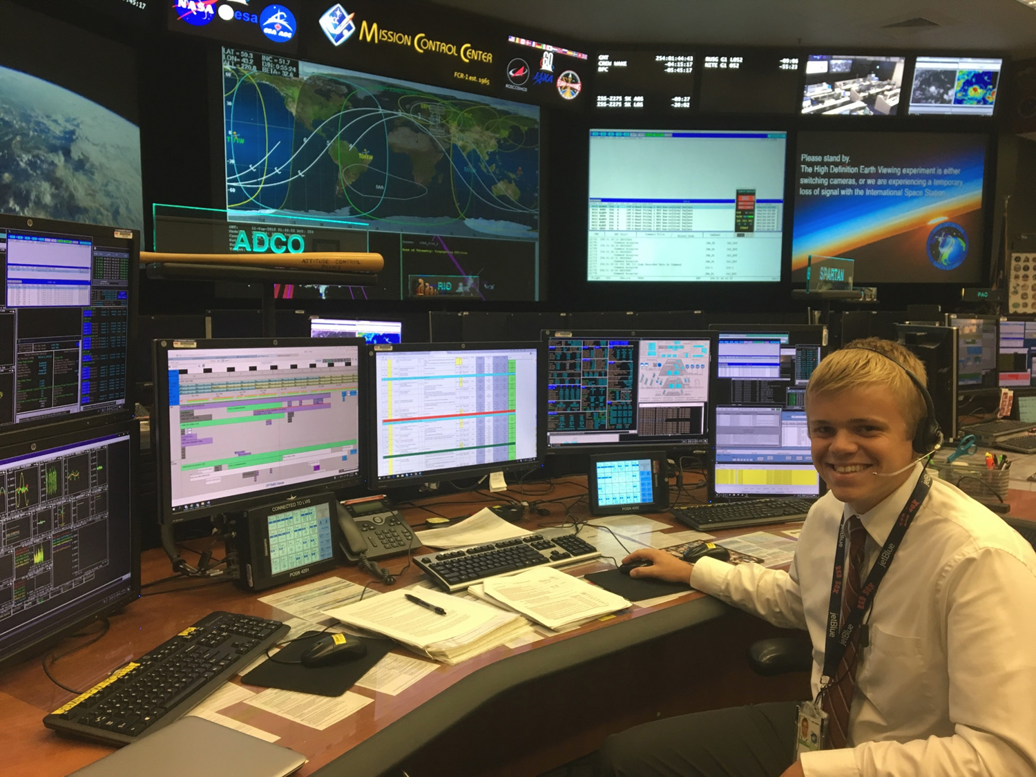 From Shepherd Hill to NASA Mission Control