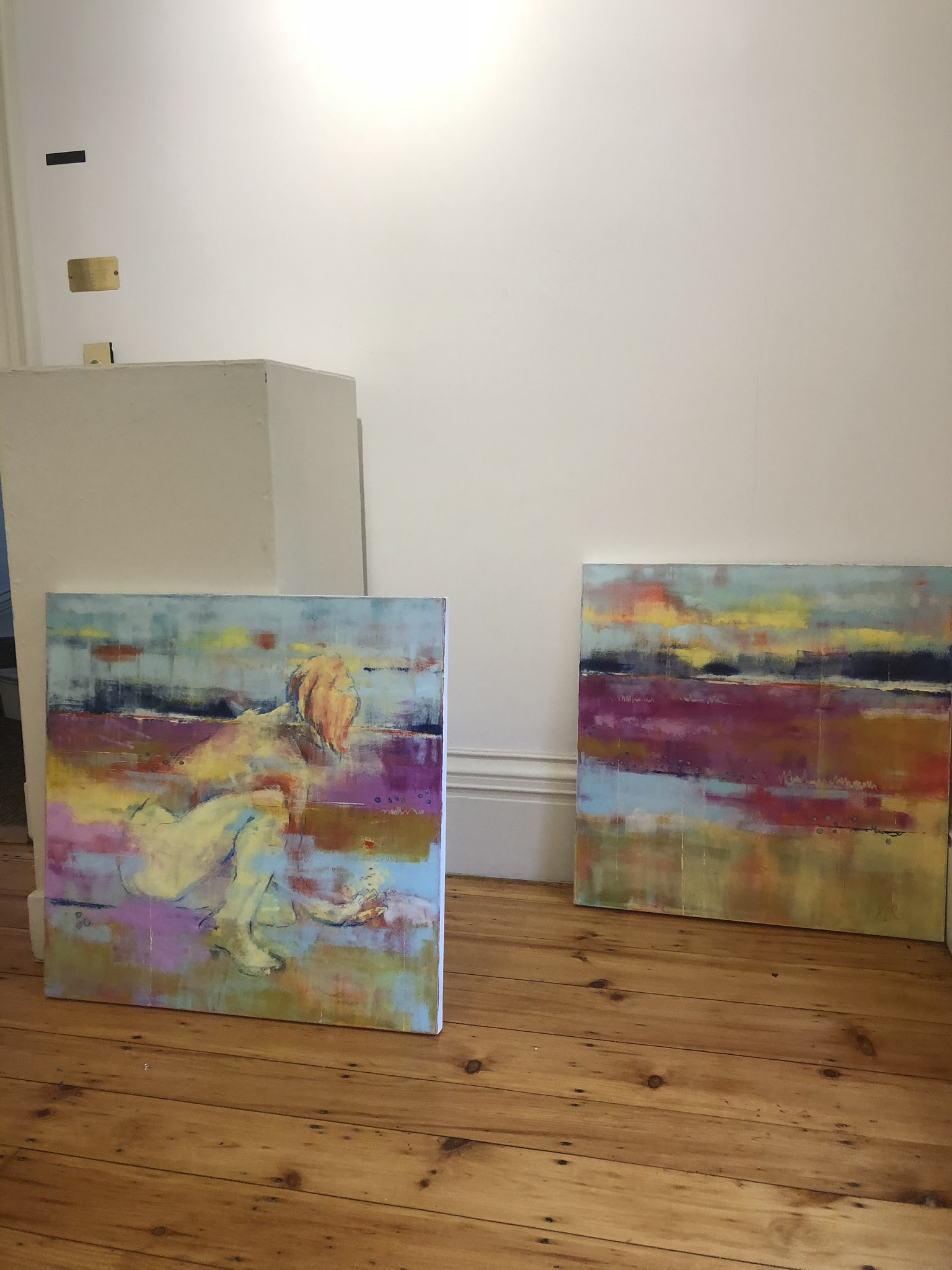 Karen Reid Brings Abstract Art to Ruth Wells Center for the Arts