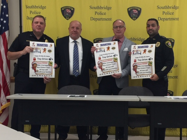 Southbridge Police Toy Drive Takes Over Toys For Tots, One Day Left To Register for Toy Distribution