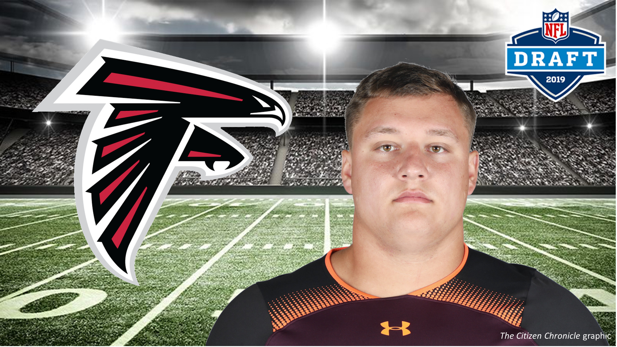 Falcons draft Lindstrom in 1st round