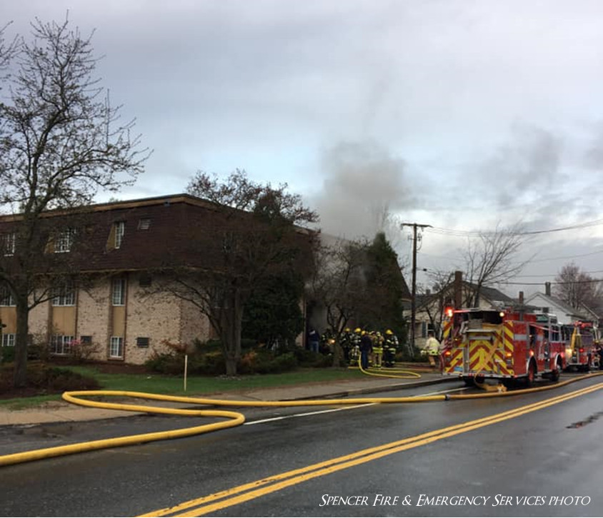 Dozens displaced by three-alarm Easter morning fire