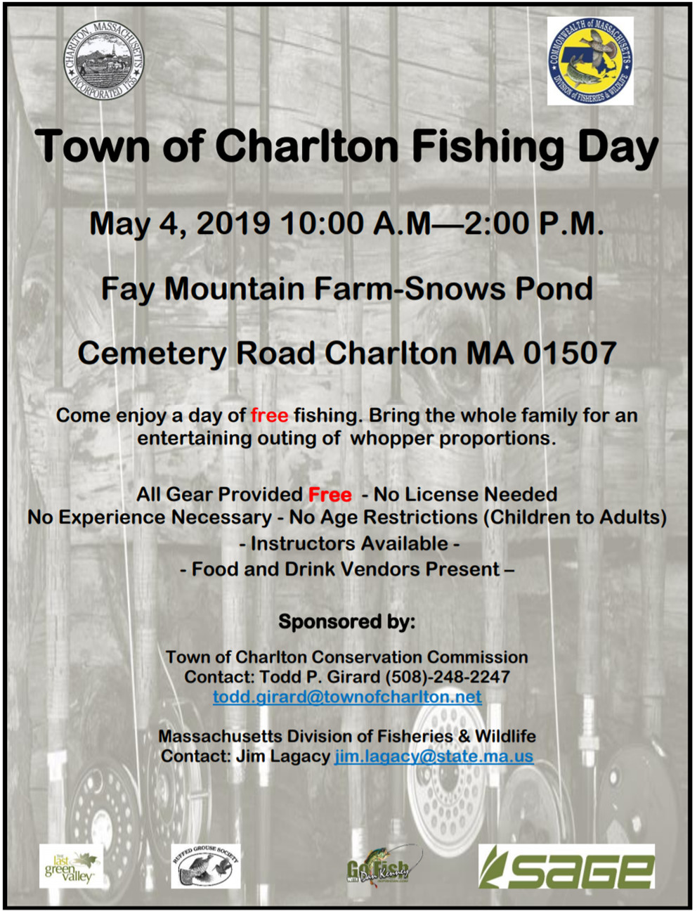 Town Fishing Day to lure locals to Snows Pond