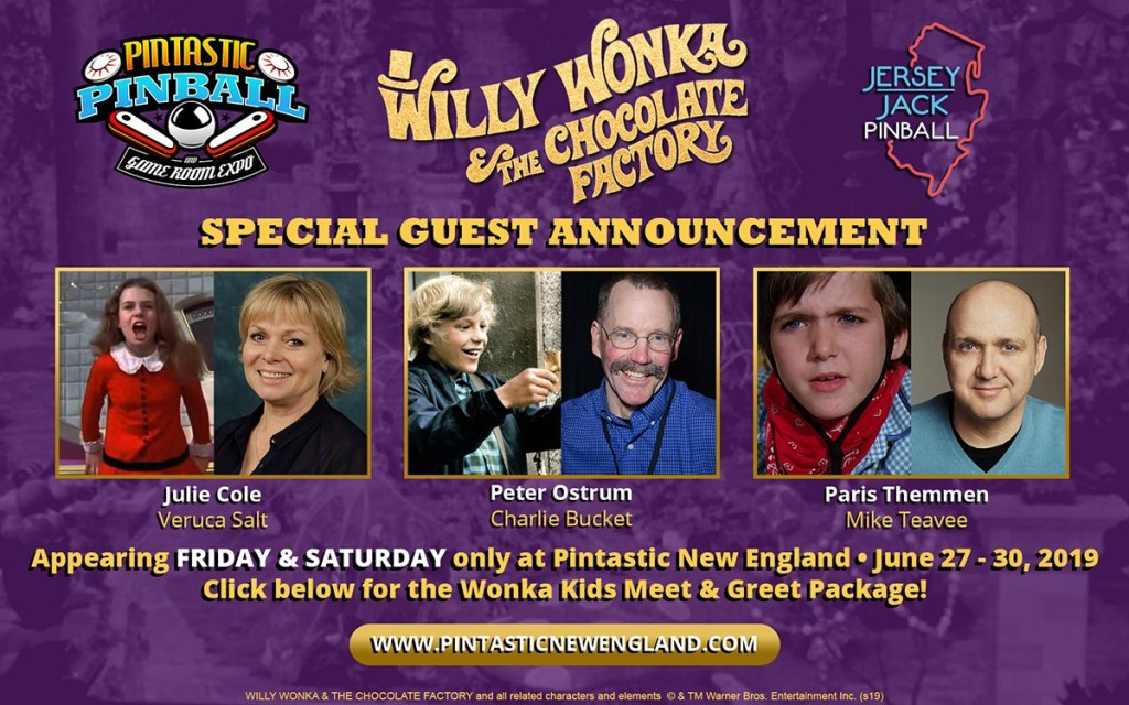 Actors From Original 'Willy Wonka & the Chocolate Factory' to Appear at Pintastic New England Sturbridge
