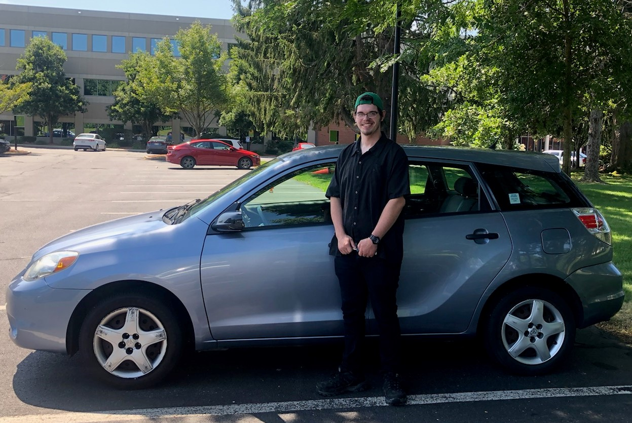 Charlton man receives Good News in form of car