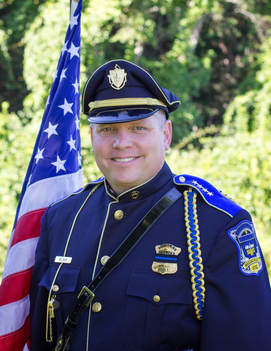 Photo of Chief Steven Wojnar of the Dudley, Massachusetts Police Department