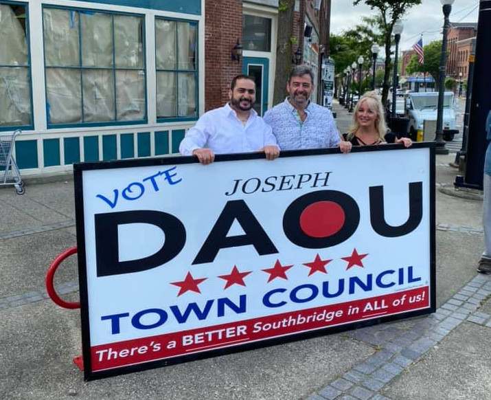 Daou, Steeves, Ryan win Town Council seats