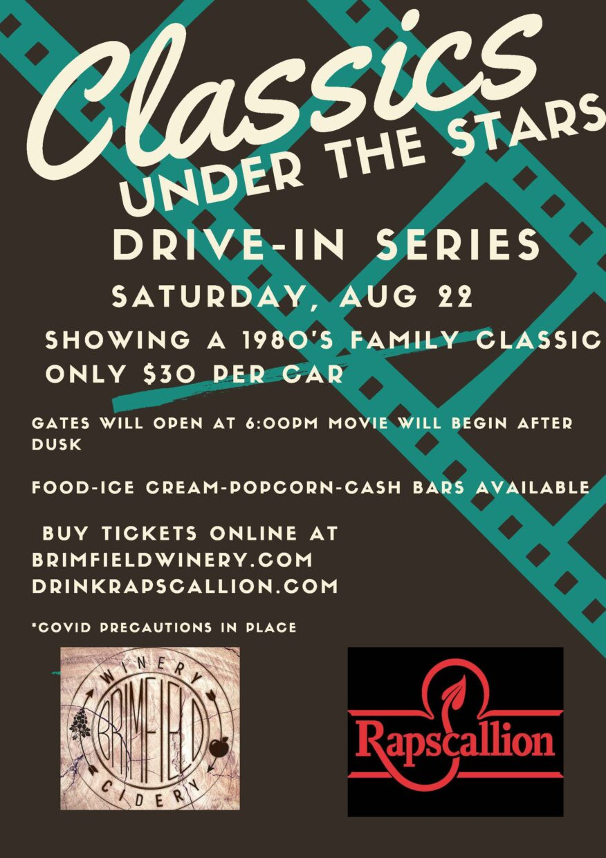 Rapscallion Brewery and Brimfield Winery Pair Up to Debut Drive-In Night